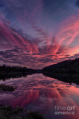 Photograph - Paulinskill Lake Sunset by Nicki McManus