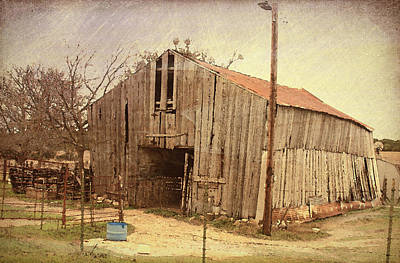Photograph - Paul's Barn by Susan Crossman Buscho