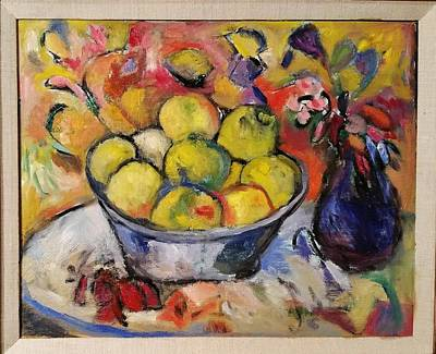 Painting - Pauls Peach by Mykul Anjelo