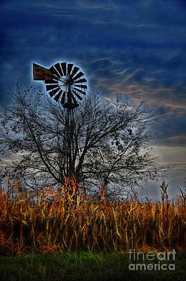 Photograph - Paul's Windmill by David Arment