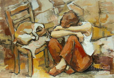 Pause Painting - Pause by Johannes Strieder
