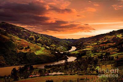 Photograph - Paute River II by Al Bourassa