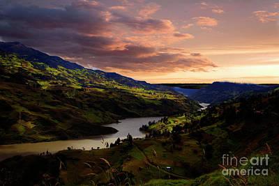 Photograph - Paute River IIi by Al Bourassa