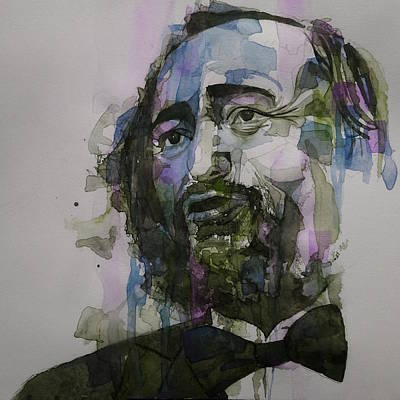 Painting - Pavarotti by Paul Lovering
