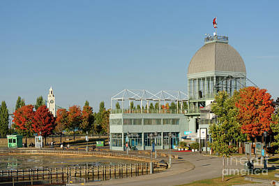 Photograph - Pavilion In Old Port Of Montreal by John  Mitchell