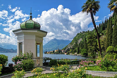 Photograph - Pavilion In Villa Monastero Gardens by Carolyn Derstine
