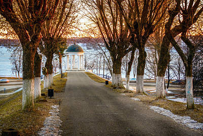 Photograph - Pavilion On Volga River by Alexey Stiop