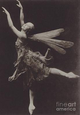 Prima Ballerina Photograph - Pavlova In The Dragon Fly by American School
