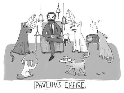 Drawing - Pavlovs Empire by Maddie Dai