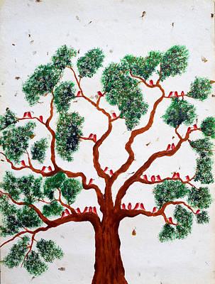 Pawanvriksh Art Print by Sumit Mehndiratta