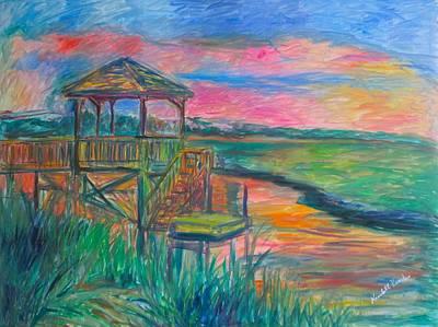 Painting - Pawleys Island Atmosphere Stage One by Kendall Kessler