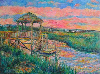 Painting - Pawleys Island Atmosphere Stage Two by Kendall Kessler