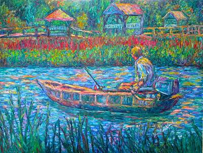 Painting - Pawleys Island Fisherman by Kendall Kessler