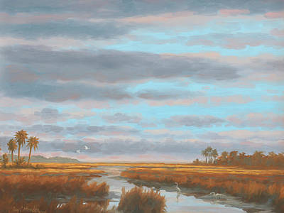 Painting - Pawley's Island by Guy Crittenden