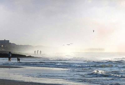 Digital Art - Pawleys Island Morning Mist by Deborah Smith