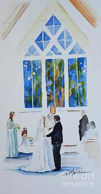 Painting - Pawleys' Island Wedding by Jill Morris