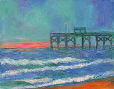 Painting - Pawleys Pier by Kendall Kessler