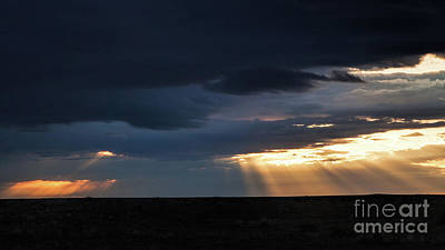 Photograph - Pawnee Angel Rays by Jim Garrison