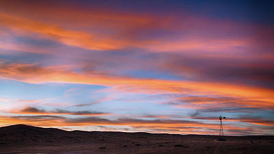 Pawnee Sunset Art Print by Monte Stevens