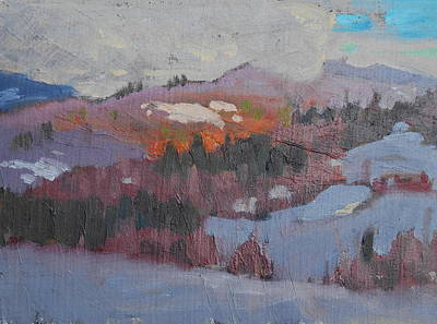 Painting - Pawnel Vermont Study by Len Stomski