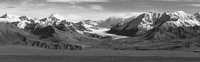 Paxson Glacier Wide Art Print