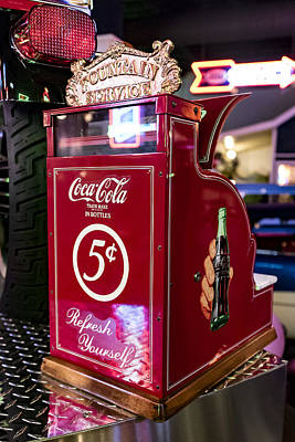Coca-cola Signs Photograph - Pay Here by Jon Berghoff