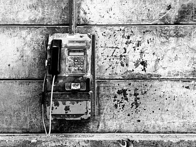 Photograph - Pay Phone by Dominic Piperata