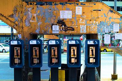Photograph - Pay Phones by Douglas Pike