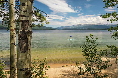 Photograph - Payette Lake by Mark Mille