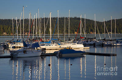 Photograph - Payette Sailboats by Idaho Scenic Images Linda Lantzy