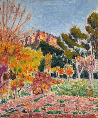 Painting - Paysage, Cassis by Roderic O'Conor