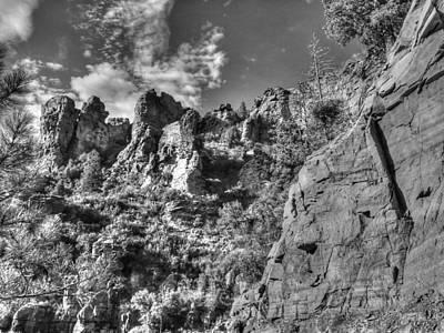 Photograph - Payson Bw by Michael Damiani