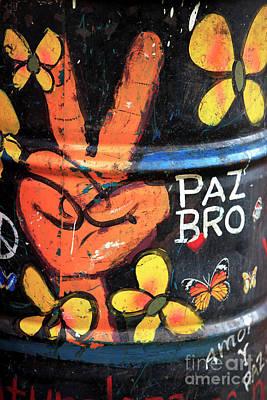 Photograph - Paz Bro by John Rizzuto