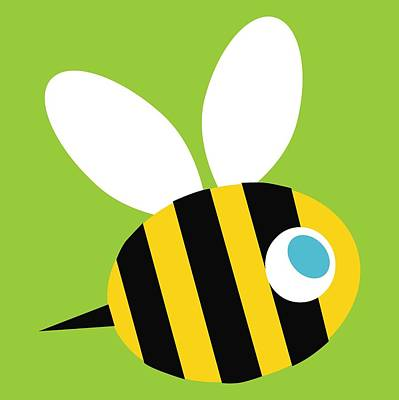 Pbs Kids Bee Art Print