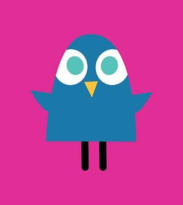 Digital Art - Pbs Kids Blue Bird by Pbs Kids