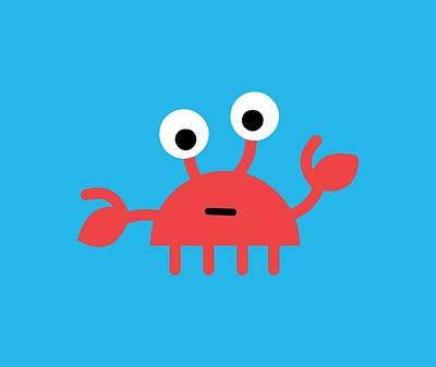 Digital Art - Pbs Kids Crab by Pbs Kids