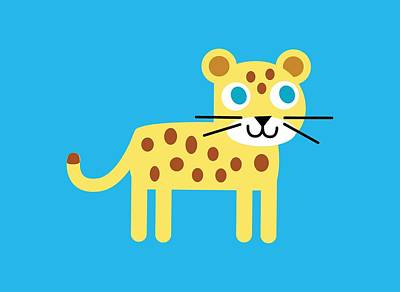 Pbs Kids Jaguar Art Print by Pbs Kids