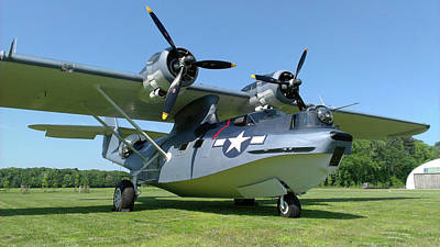 Photograph - Pby Catalina by Liza Eckardt