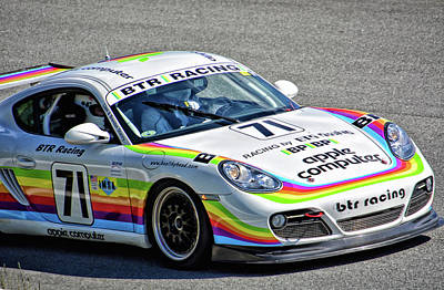 Photograph - Pca 2011 Porsche Cayman by Mike Martin