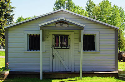 Photograph - Pe Ell Historic Jailhouse by Tikvah's Hope