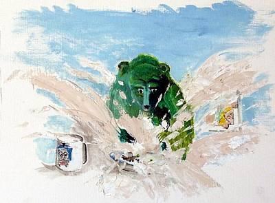 Pea As In Porridge Original by Chris Walker