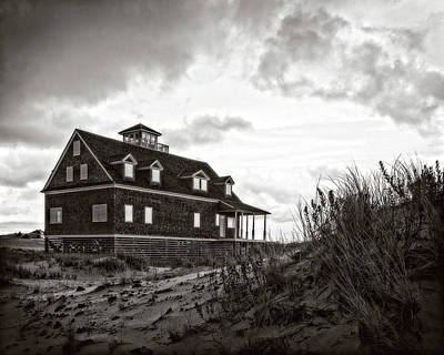 Photograph - Pea Island Lifesaving Station by Alan Raasch