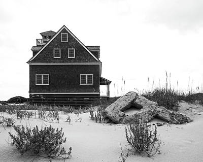 Photograph - Pea Island Station 1 by Alan Raasch