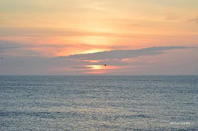 Photograph - Pea Island Sunrise by Barbara Ann Bell