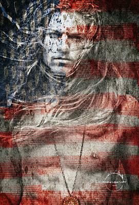 Digital Art - Peace by Absinthe Art By Michelle LeAnn Scott