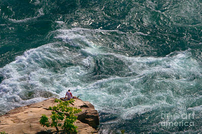 Photograph - Peace Amidst Troubled Waters by Daniel Brinneman