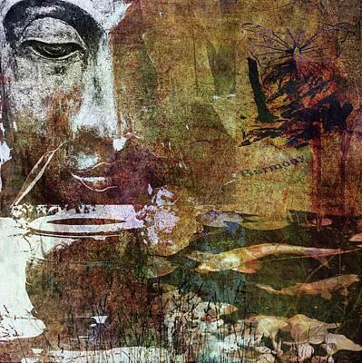 Mixed Media - Peace And Harmony by Angela Holmes