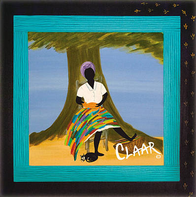 Gullah Geechee Painting - Peace And Naps by Samantha Claar
