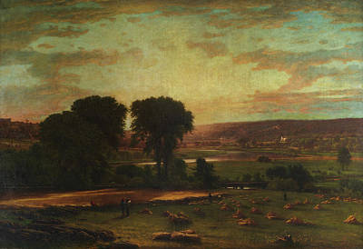 Inness Painting - Peace And Plenty by George Inness