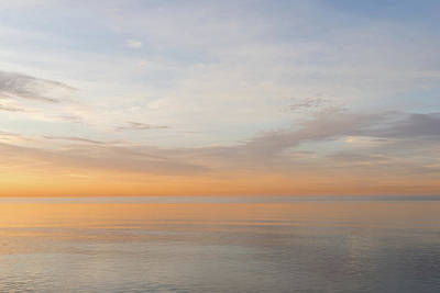 Photograph - Peace And Quiet In Soft Pinks Oranges And Blues by Georgia Mizuleva